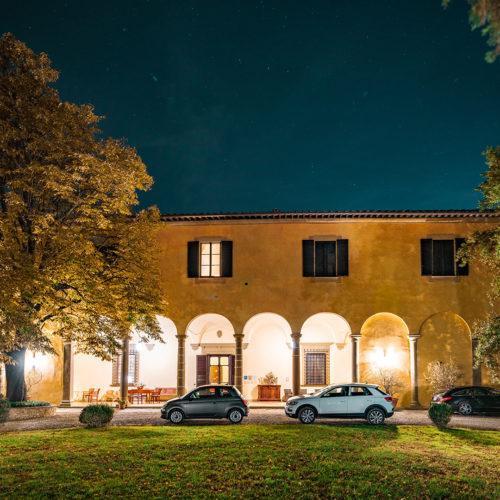 Villa i Toscana, Italien